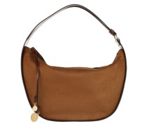 Hobo Bag Medium Zip Shopping Cognac