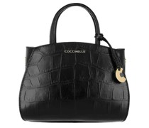 Crossbody Bags Concrete Croco Maxi Satchel Bag Leather
