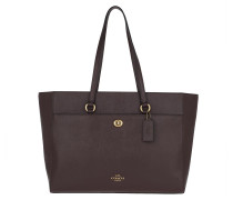 Shopper Tote Bag Oxblood
