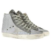 Francy Sneakers Gun Metal Glitter Sneakers