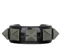 Studded Bracelet Black Schmuck schwarz