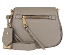 Recruit Small Saddle Shoulder Bag Mink