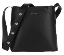 Umhängetasche Josephine Handle Bag Black/Black/Gold