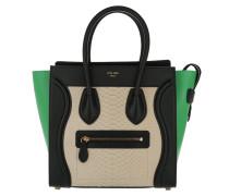 Luggage Tote Bag Micro Light Taupe grün