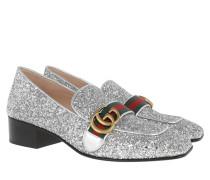 T Crystal Glitter Pump Silver Schuhe