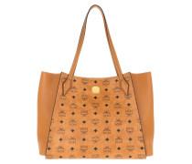 Shopper Luisa Visetos Medium Cognac