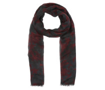 Camoustars Cashmere And Modal Scarf Rosso Schal rot