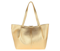 Shopper Shopping Pepe City Grande Gold Star Beige