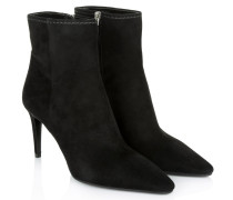 Stiletto Bootie Suede Black Schuhe