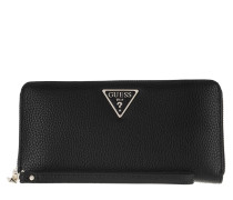 Portemonnaie Becca Wallet Large Zip Around Black
