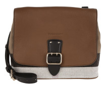 Canvas Check Satchel SM Shellwood