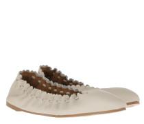 Ballerinas Feminie Daywear Flat Leather Gesso