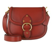 Crossbody Bags Glovetanned Leather Beat Saddle Bag