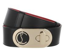 Gürtel Elisa Belt Leather Black/Gold
