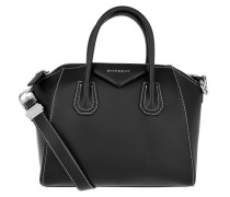 Tasche - Antigona Contrast Stitching Small Black
