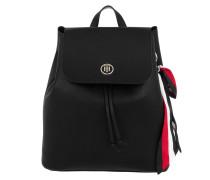 Charming Tommy Backpack Black Rucksack