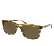 Sonnenbrille MB0013S-002 56 Sunglass MAN ACETATE HAVANA