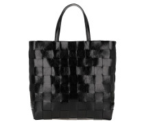 Shopper Chessboard Black/Nickel