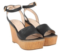 Sandalen - Kleia High Wedge Sandal Calf Black