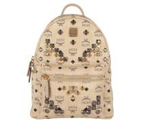 Stark Backpack Small 2 Beige Rucksack gold
