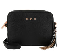 Darwina Metallic Tassel Camera Bag Black