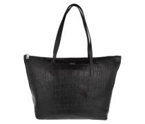 Tasche - Helena Shopper Large Croco Black