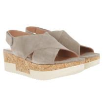 Tropez Plateau Sandal Crosta Funghi Sandalen