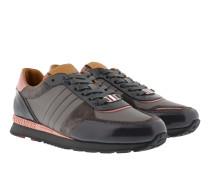 Sneakers - Asyia Sneaker Patent Leather Dark Grey