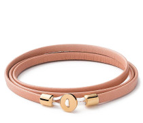 Armband Nexus Wrap Bracelet Gold Vermeil Polished S Salmon
