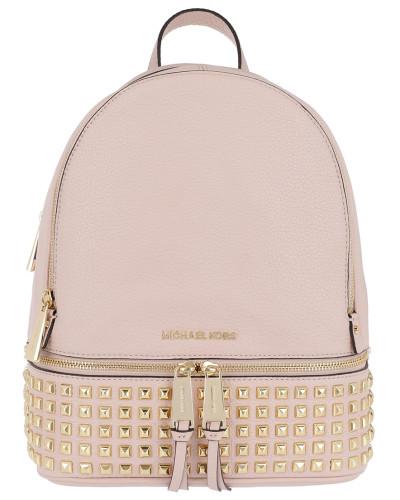Preise Für Verkauf Mit Paypal Günstigem Preis Michael Kors Damen Rhea Zip MD Pyr Stud Backpack Soft Pink Tasche Online Kaufen Mit Paypal iyBVD