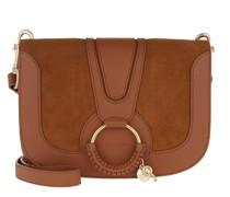 Umhängetasche Hana Crossbody Bag Leather Caramel