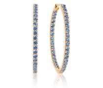 Ohrringe Bovalino Earrings Blue Zirconia