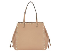 Rockstud Double Handle Bag Sorbet Tote