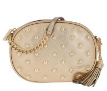 Studded MD Messenger Bag Pale