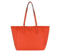 Helena Shopper Nature Grain Red Umhängetasche rot