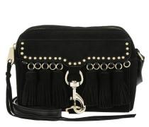 Multi Tassel Camera Bag Black