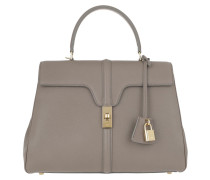 Satchel Bag 16 Medium Grained Calfskin Pebble