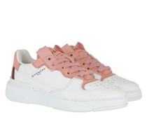 Sneakers Wing Low Leather White Salmon
