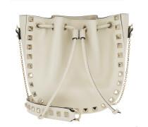 Rockstud Bucket Bag White Beuteltasche weiß