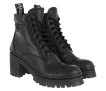 Boots Booties Leather Nero