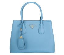 Tasche - Shopping Bag Saffiano Cuir Mare Bluette
