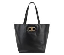 Tote Triomphe Medium Cabas Bag Black