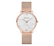 Uhr Watch Miss Ocean Line Marble Mesh Strap