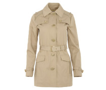 Fancy Trench Coat Khaki Mantel