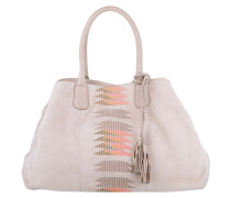 Tasche - Chelsea Tote Embroidery/Suede Leather Light Powder