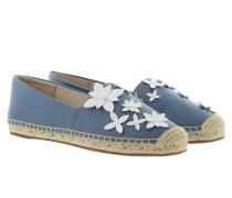 Lola Espadrille Denim/Optic White Espadrilles blau
