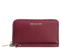Portemonnaie Large Flat Phone Case Dark Berry