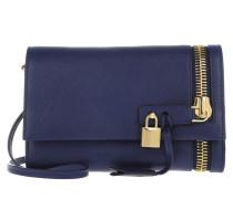 Tasche - Zip Front Pochette Cobalt