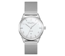 Uhr Code TS Watch Silver