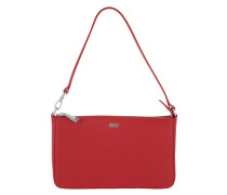 Vanity Clutch Bright Red